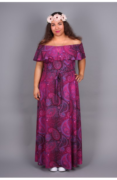 Długa sukienka BOHO