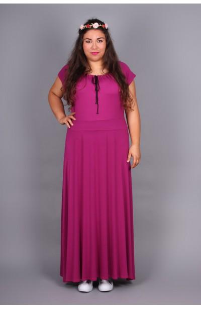 Sukienka z marszczonym dekoltem