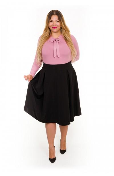 ALICE BLACK rozkloszowana spódnica