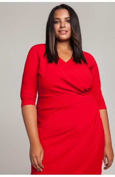 MONIQUE RUBY elegancka sukiena plus size