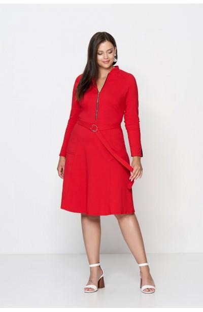 DEBRA RED minimalistyczna...