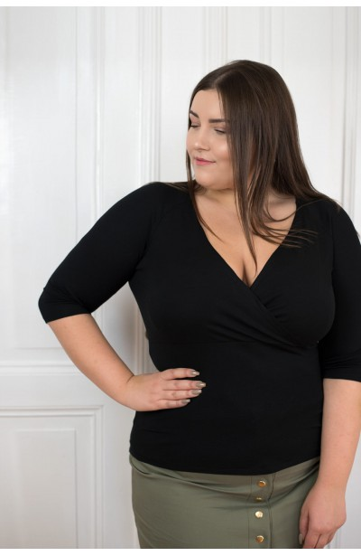 TIA BLACK bluzka plus size...