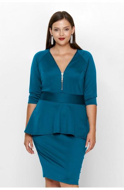 HOLLY TURKUS elegancka sukienka plus size