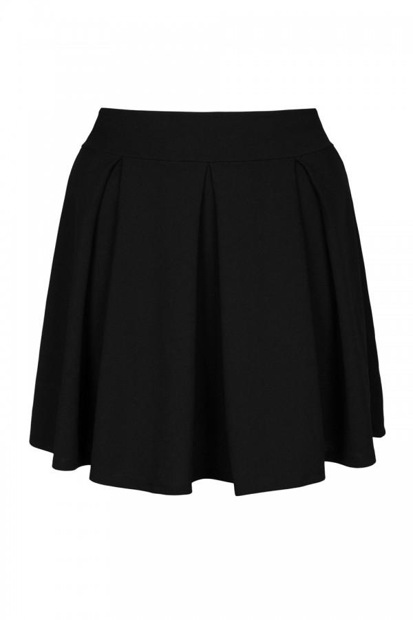 SYLWIA BLACK rozkloszowana spódnica plus size