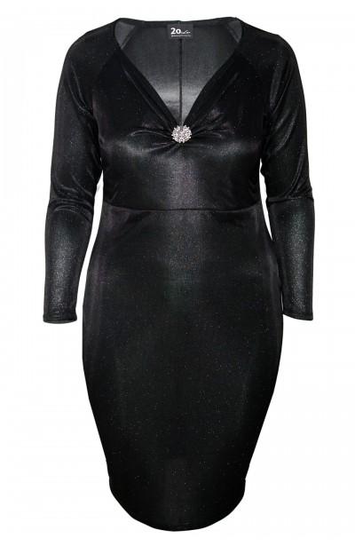 HARLOW BLACK elegancka...