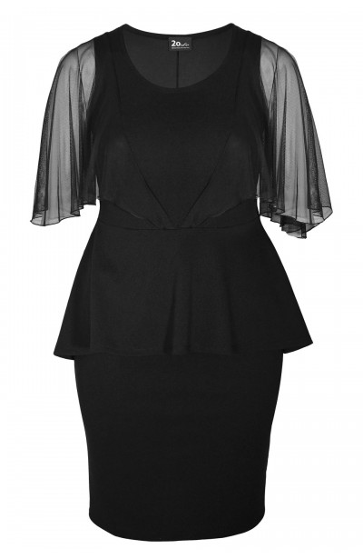 GINGER BLACK elegancka...