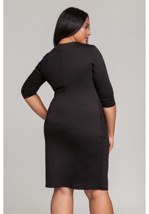 PEPPER BLACK oryginalna sukienka plus size