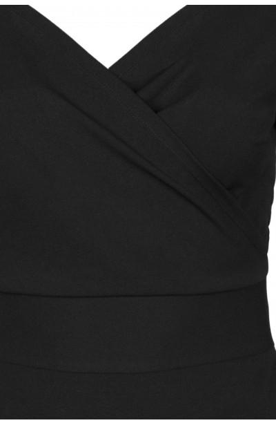 KSENIA BLACK elegancka sukienka plus size