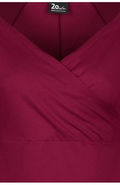 TIA WINE wygodna bluzka plus size