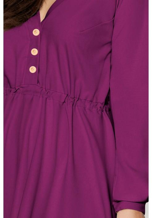 MELLISA VIOLET zwiewna sukienka plus size