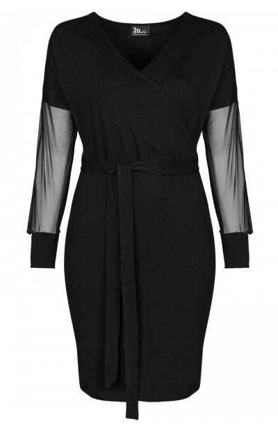 HANA BLACK wygodna sukienka...