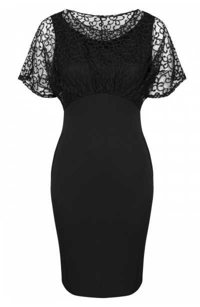 LAVINIA BLACK elegancka...