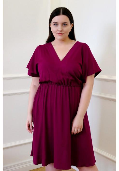 SHARON VIOLET elegancka sukienka plus size
