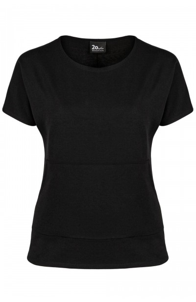 BROOKE BLACK wygodny top...