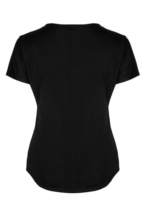 BROOKE BLACK wygodny top plus size