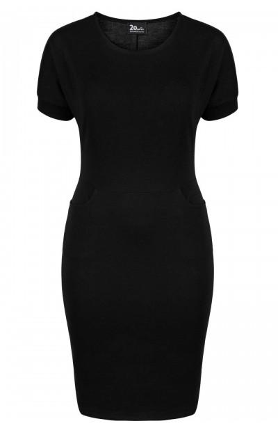 VERA BLACK wygodna sukienka...