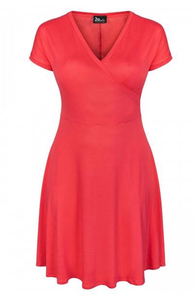 BLANCA CORAL wygodna sukienka plus size
