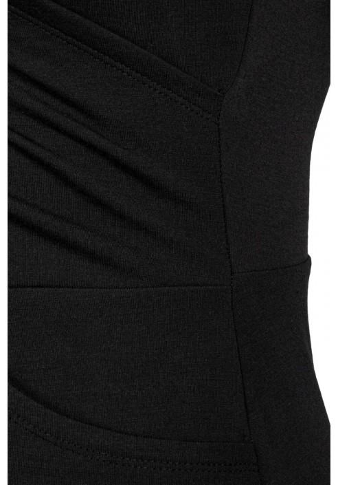 CLAUDIA BLACK wygodna sukienka plus size