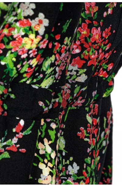 LATIKA zwiewna sukienka plus size w kwiaty