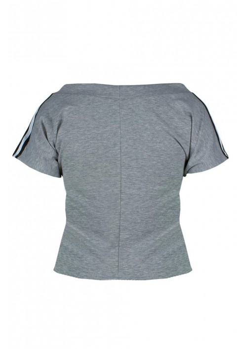 AIKA GRAY wygodny top plus size