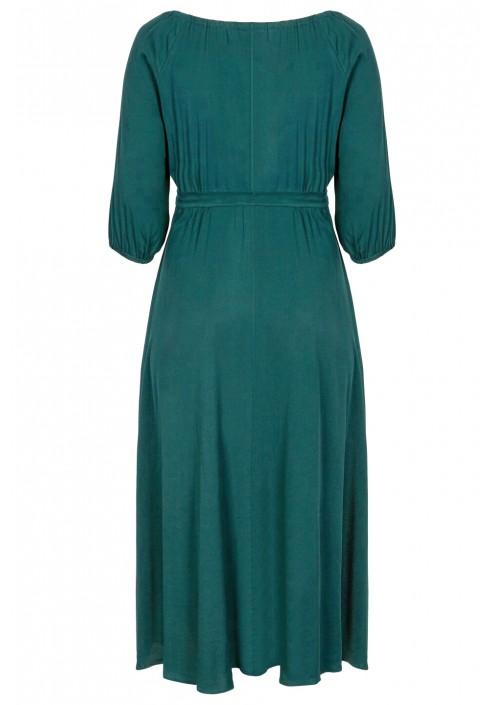 TINA GREEN maxi sukienka plus size z paskiem