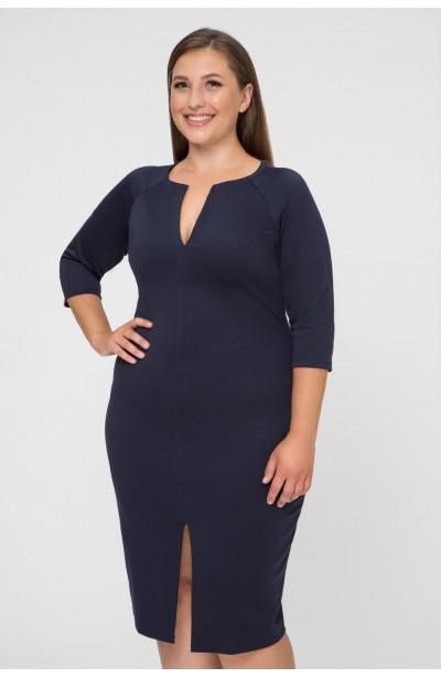 PEPPER NAVY oryginalna sukienka plus size