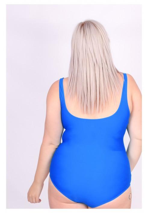 Niebieski strój kąpielowy