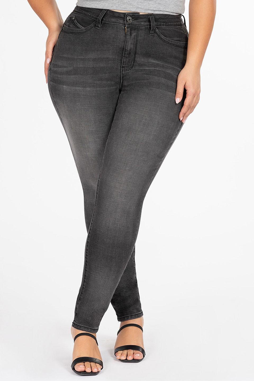ABIGAIL GRAY obcisłe modelujące jeansy plus size