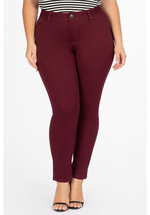 TAYLOR WINE modne jeansy plus size