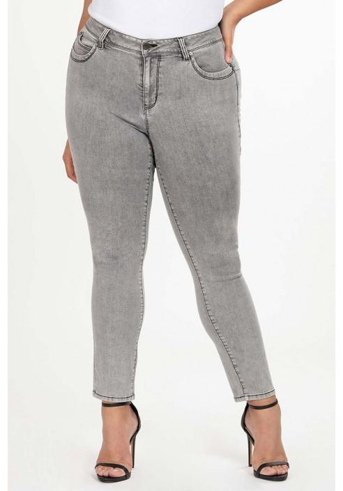 TRISHA GRAY modne jeansy plus size