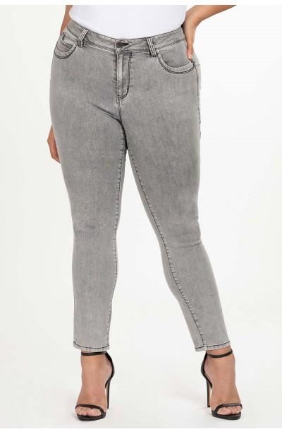 TRISHA GRAY modne jeansy...