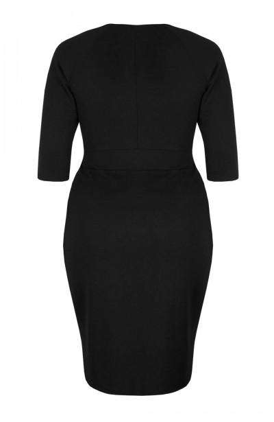 MONIQUE CLASSIC elegancka sukienka plus size