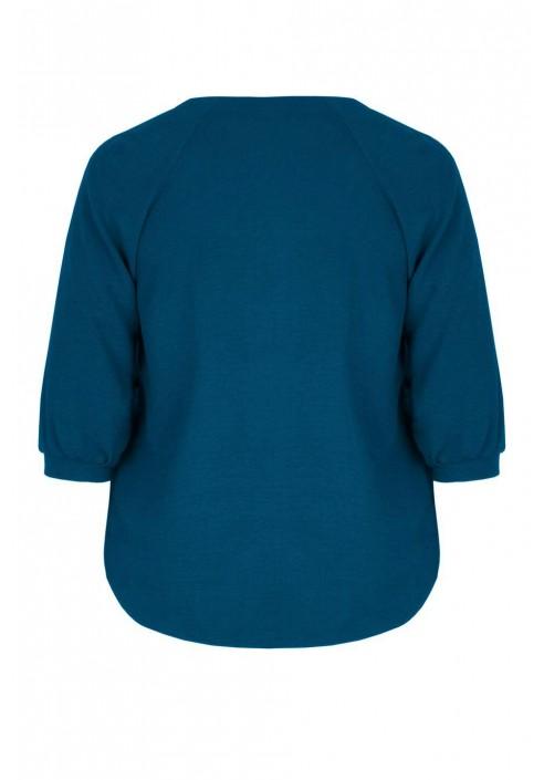 LAURA MARINE elegancka koszula plus size