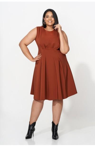 TATIANA BROWN elegancka sukienka plus size