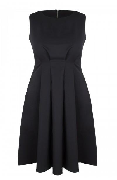 TATIANA BLACK elegancka sukienka plus size