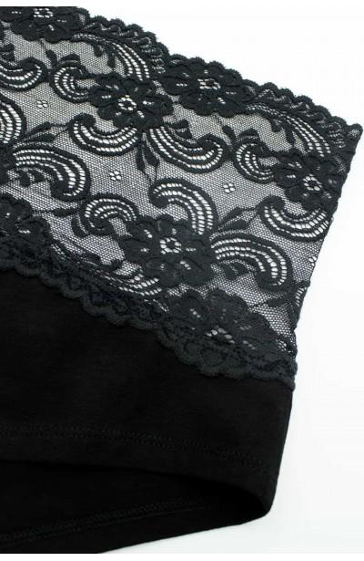 LAILA BLACK komplet bielizny plus size