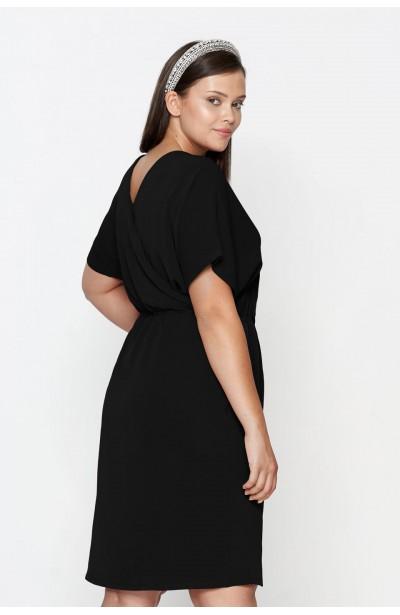 CHIARA BLACK elegancka sukienka plus size