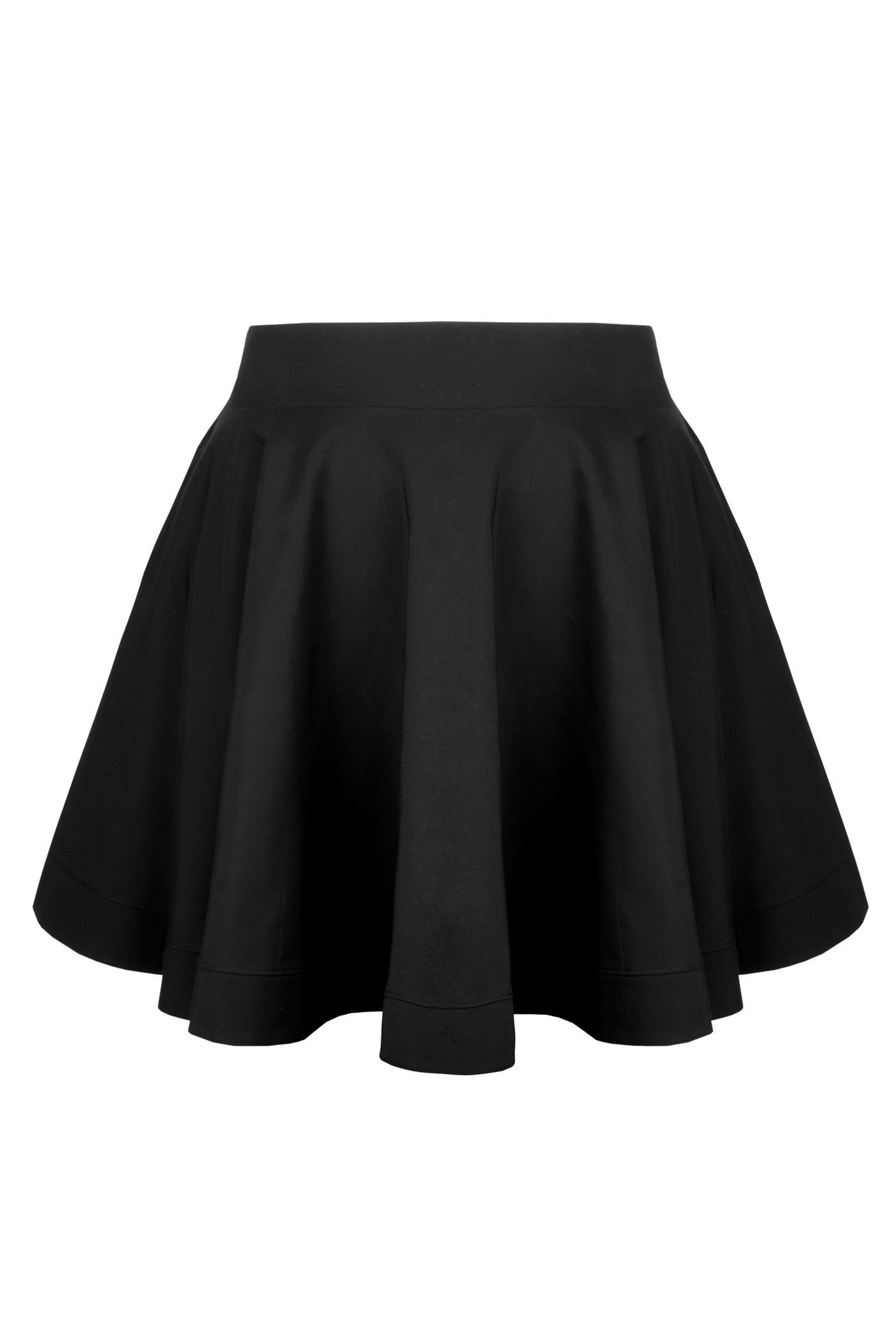 HESSA BLACK elegancka spódnica plus size