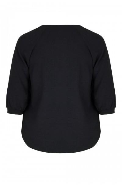 LAURA BLACK elegancka koszula plus size