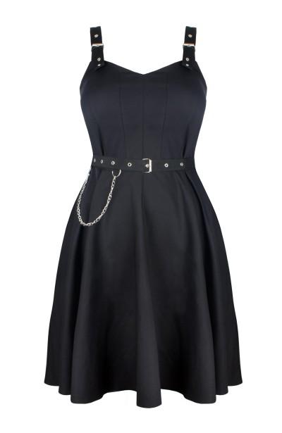 ZOJA BLACK rockowa sukienka...