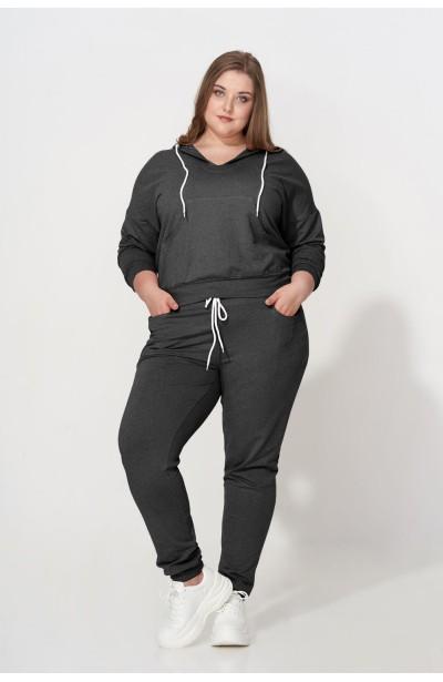 TANJA GRAY wygodna bluza plus size z kapturem