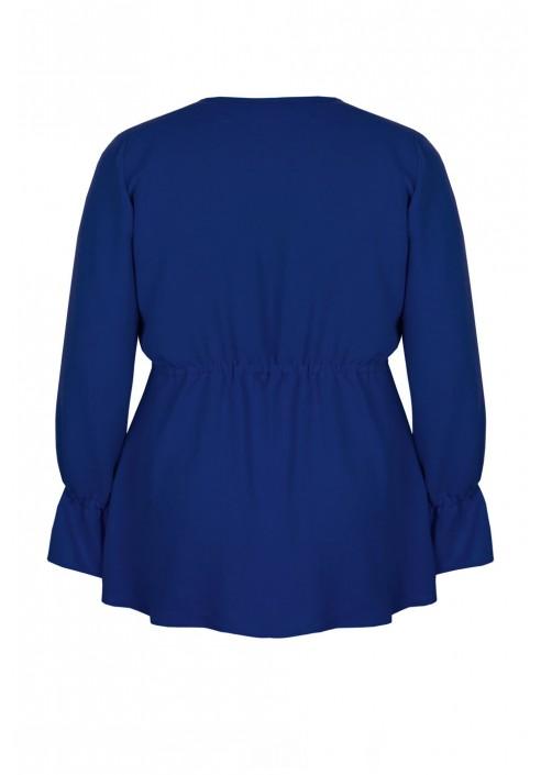 GIA BLUE elegancka bluzka plus size
