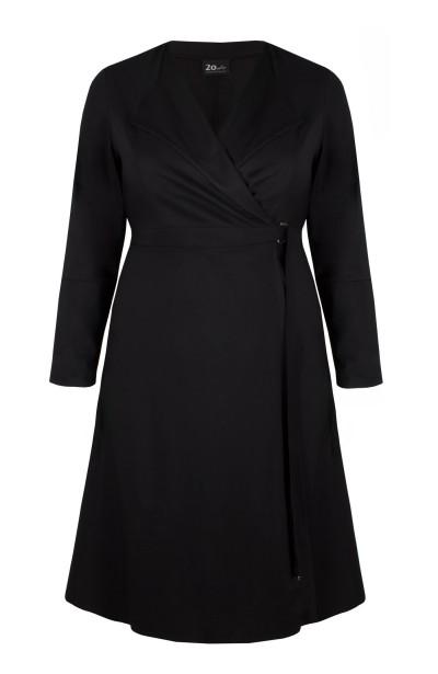 TRINITY BLACK płaszcz plus...