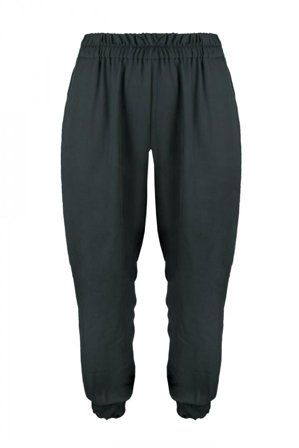 FERN GRAFIT wygodne spodnie plus size