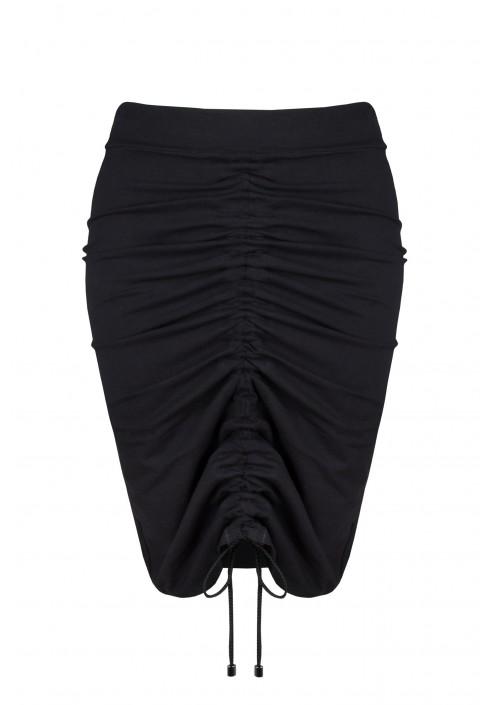 AUSTEN BLACK ołówkowa spódnica plus size