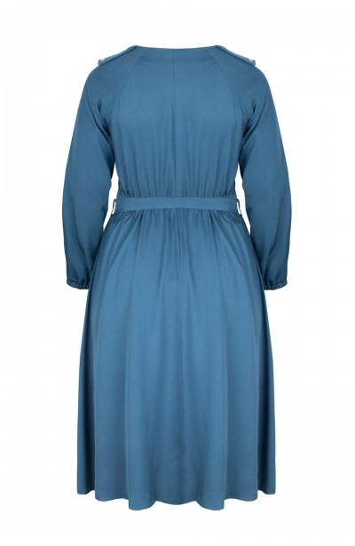 DELTA DOLPHI rozkloszowana sukienka plus size
