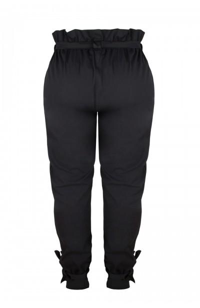 HUDSON BLACK eleganckie spodnie plus size
