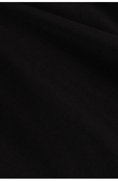 EVITA BLACK BLUZKA plus size z kopertowym dekoltem