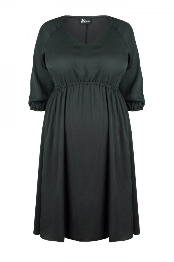 DORIS GRAFIT rozkloszowana sukienka plus size