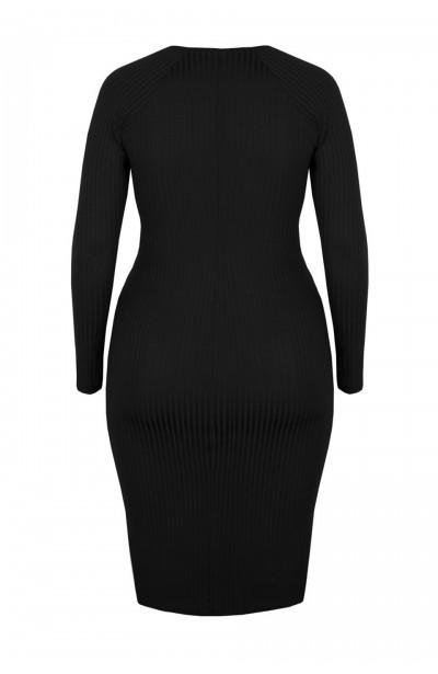GABRIELLE MIDI ołówkowa sukienka plus size